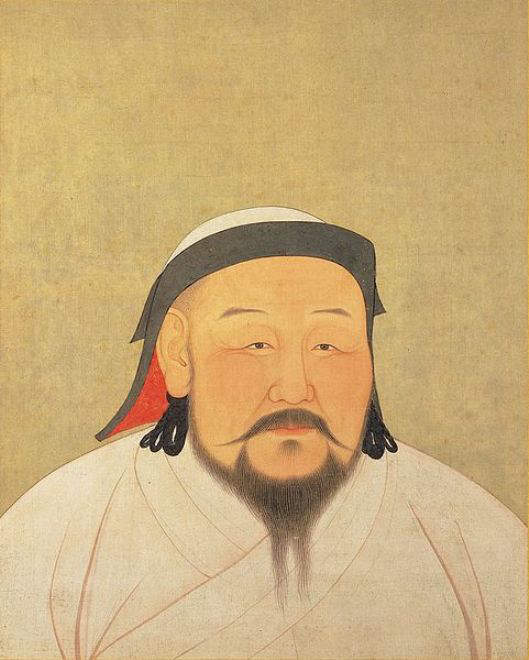 1294-Portrait of Kublai Khan by Nepalese artist Anige