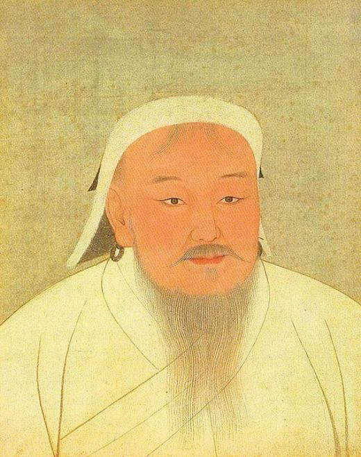14th-Century Portrait of Genghis Khan