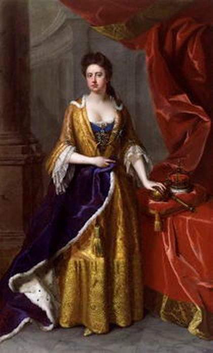 1705-portrait of Queen Anne
