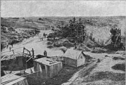 1873-Photograph of the Kimberley mine