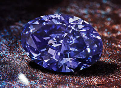 2.83-carat, oval brilliant-cut, fancy deep grayish-bluish-violet Argyle Violet Diamond