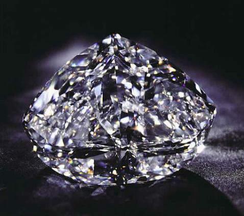 273.85-carat, D-color, Internally Flawless, Modified Heart-Shaped Centenary Diamond