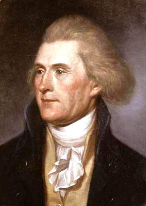 The life of thomas jefferson as the third president of the united states