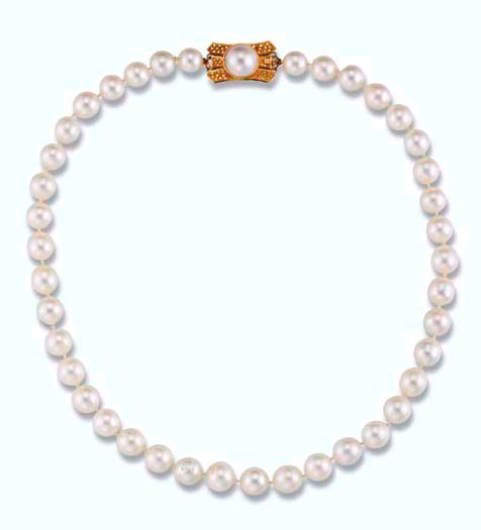 A South Sea Cultured Pearl Necklace- Princess Margaret's Collection