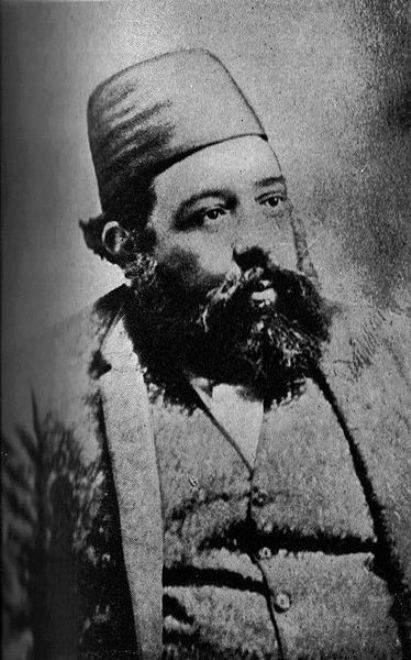 Ali Shah Aga Khan II (1881-85) - 47th Imam of the Nizari Ismaili Sect of Shi'ite Muslims