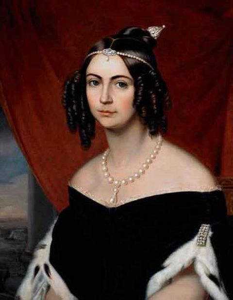 Amelia of Leuchtenberg - Second wife and Empress consort of Pedro I of Brazil