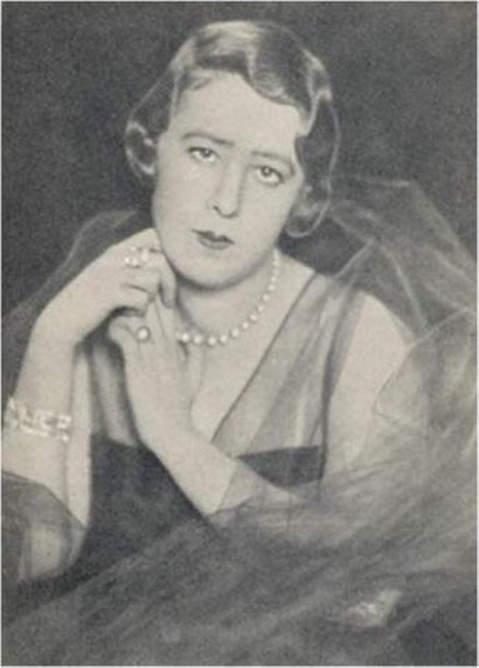 An early image of Elena Lupescu
