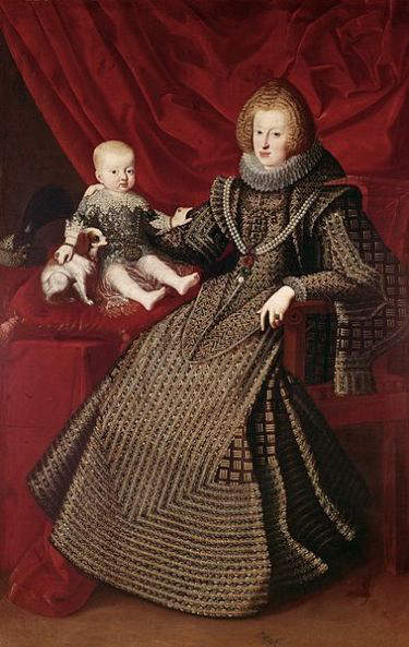 Maria Anna of Spain - wife of Ferdinand III, Holy Roman Emperor (1637-1657)