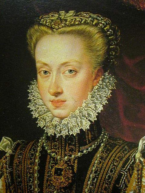 Anna of Austria - Fourth wife of Philip II of Spain