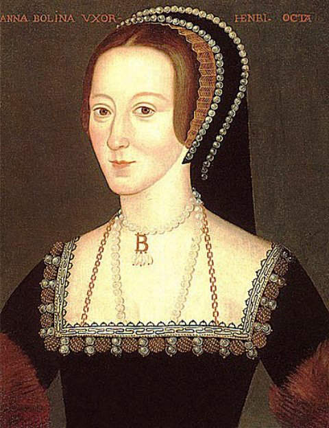 Anne Boleyn's Portrait- Queen of England- 2nd wife of Henry VIII