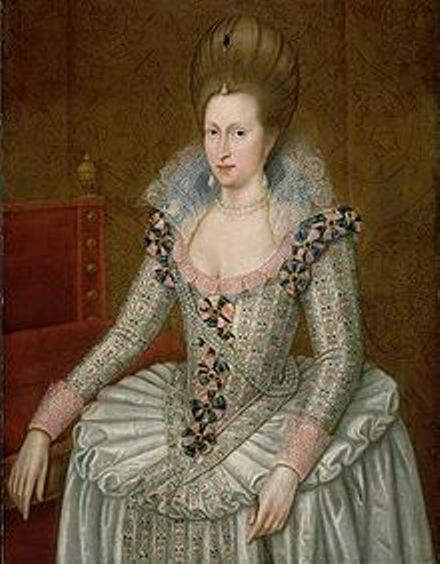 Anne of Denmark - Wife of King James I of England