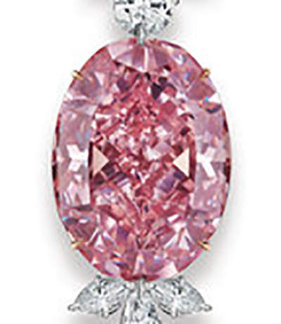 Another view of Juliet Pink Diamond