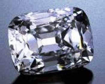Archduke Joseph Diamond - Reputed to be the 12th largest perfect white diamond in the world