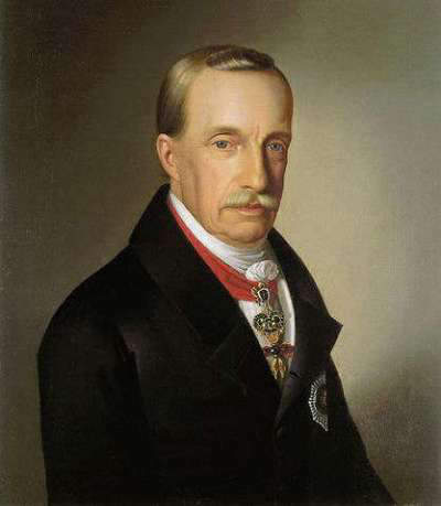 Archduke Joseph, the Palatine of Hungary - 7th son of Emperor Leopold II, who probably inherited the diamond