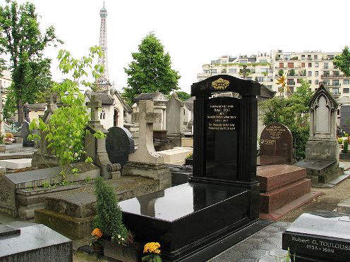 The Grave Yard of Bao Dai in Paris, France