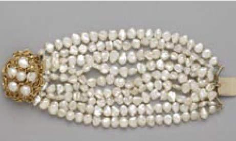 The Biwa Pearl Bracelet
