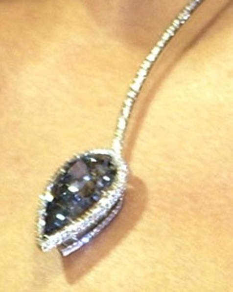 Blue Empress Diamond Necklace