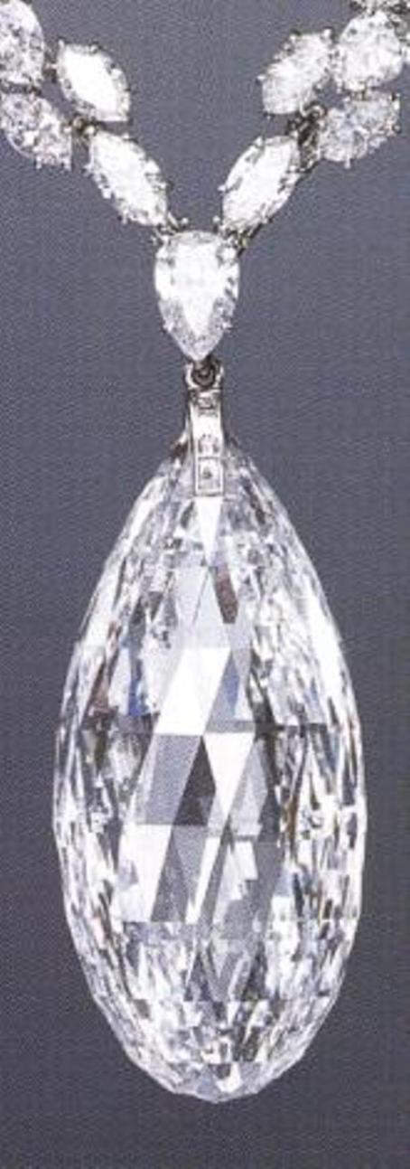 Briolette of India / South Africa - 90.38 carats