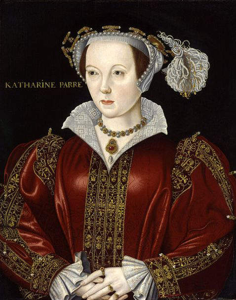Catherine Parr - 6th and final wife of Henry VIII