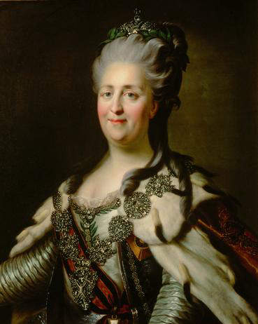 Catherine the great. empress of Russia