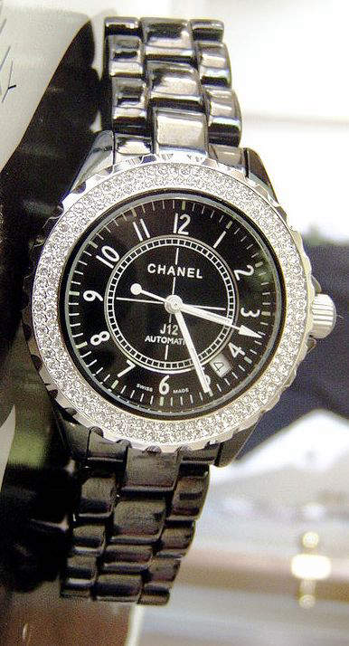 Chanel's first unisex watch the J12 launched in 2000