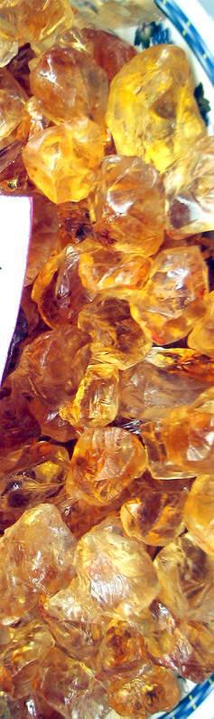 Citrine Rough Gemstones/Mineral