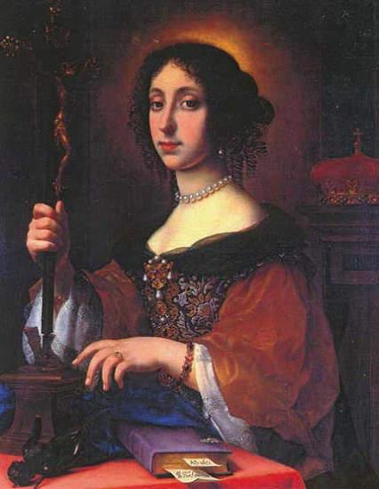 Claudia Felicitas of Austria - wife of Leopold 1, Holy Roman Emperor (1658-1705)