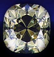 The De Beers diamond gets its name from the mine where the diamond was discovered in 1888