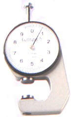 A Dial Gauge with an accuracy of 0.1mm. It comes inmaximum size of 10mm and 20mm.