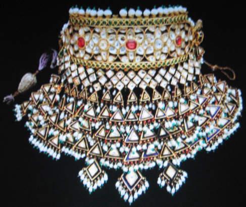 Doris Duke/ Ganna Walska Indian Ariya necklace