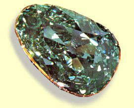 The Dresden Green is the largest and finest natural green diamond ever found, and has a pear-shaped cut, with a weight of 40.70 carats