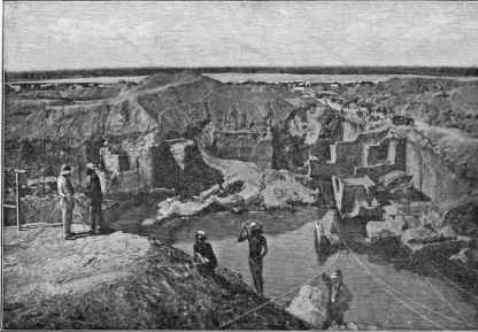 Dutoitspan mine in 1874