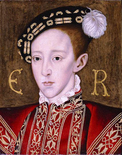 Edward VI 3rd Tudor King of England