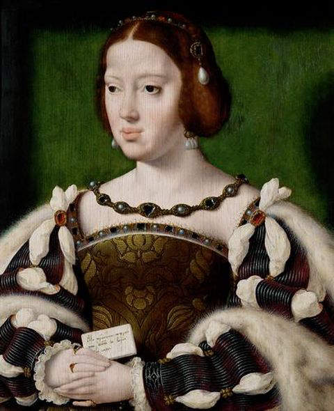 Eleanor of Austria - Third wife and Queen consort of Manuel I, king of Portugal