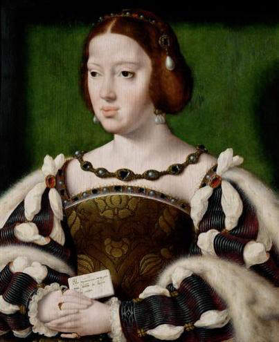 Eleanor of Austria, wife of King Francis I of France (1515-1547)
