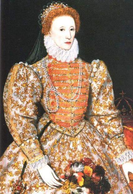 Elizabeth I  of England and Ireland - Darnley Portrait (1575)