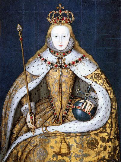 Elizabeth I  as  Princess around 1546
