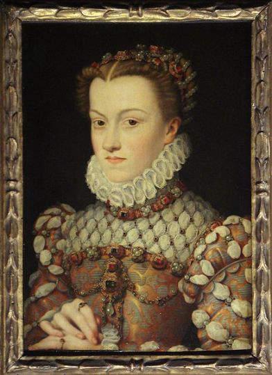 Elizabeth of Austria, wife of Charles IX of France (156--1574)