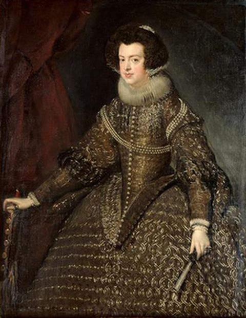 Elizabeth of France by Diego Velazquez in 1632