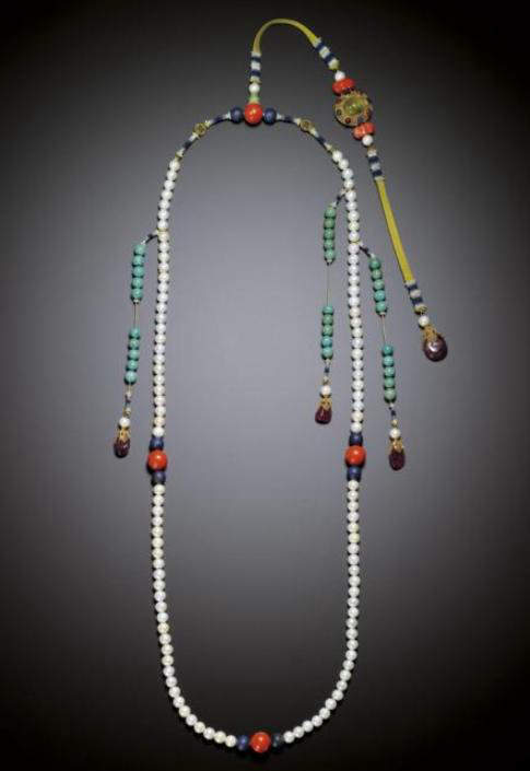 Emperor Yongzheng's Ceremonial Eastern Pearl Court Necklace- Chaozhu