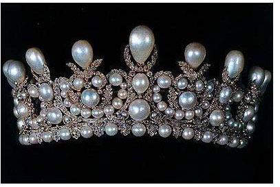 Empress Eugenie Pearl And Diamond Tiara At Louvre Museum Tiara chose the path of most resistance. empress eugenie pearl and diamond tiara