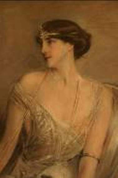 Florence Blumenthal wife of American financier and philanthropist George Blumenthal