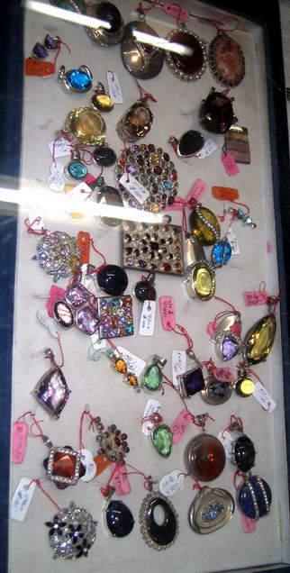 Natural Ceylon gemstone ear rings