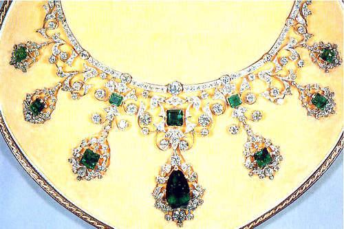 The Godman Emerald and Diamond Necklace