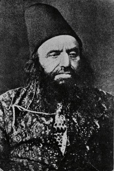 Hassan Ali Shah Aga Khan I (1818-1881) - 46th Imam of the Nizari Ismaili Sect of Shi'ite Muslims