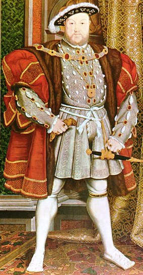 Henry VIII, 2nd Tudor King of England