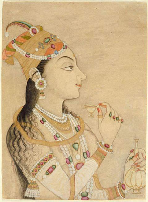 Idealized Portrait of Empress Nur Jahan