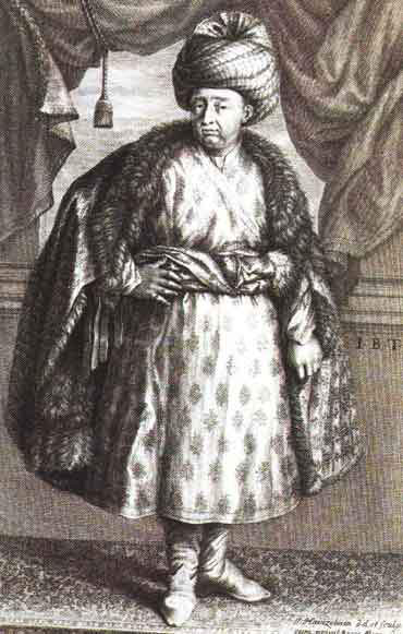 Jean baptiste Tavernier, wearing a mogul dress - extracted from his book