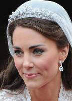 Kate Middleton wearing the Cartier