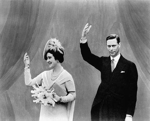 King George VI and Queen Elizabeth at the Canadian Pavilion of the New York World Fair in 1939